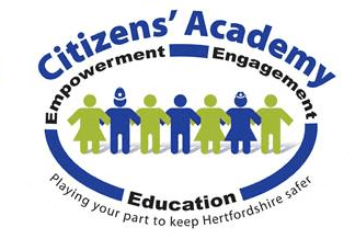 Hertfordshire crime prevention citizens academy